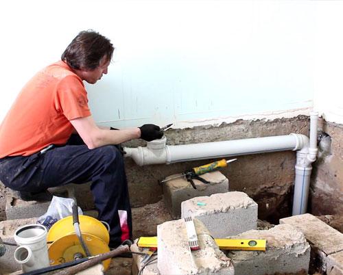 Ремонт канализации в частном доме